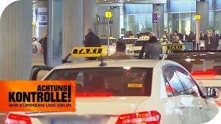 Taxistand am Flughafen: Wo bleiben die Taxis? | Achtung Kontrolle | kabel eins