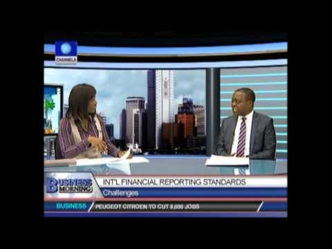 Ernst & Young Nigeria (IFRS team interview with Channels TV) - Part 1