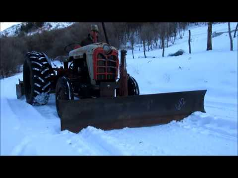 #52 - Installed Snow Plow On Tractor