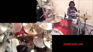 Avenged Sevenfold - Afterlife, 9 Year Old Drummer, Jonah Rocks