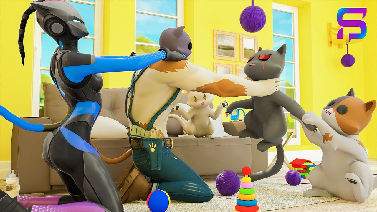 KIT'S FAMILY LIFE.... ( Fortnite Movie )