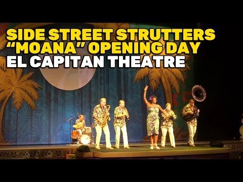 "Side Street Strutters tribute to ""Moana"" directors Ron Clements & John Musker at El Capitan Theatre"