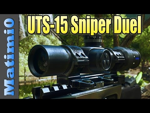 UTS-15 Sniper Shotgun Duel - Full of Failure! - Battlefield 4