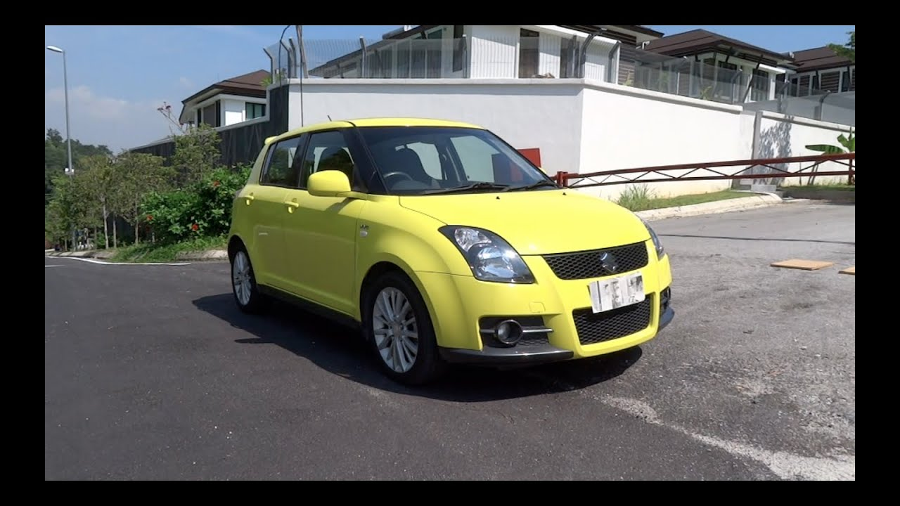 2008 suzuki swift sport start up and full vehicle tour youtube. Black Bedroom Furniture Sets. Home Design Ideas
