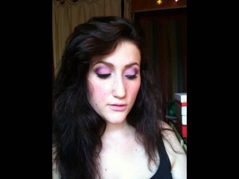 ultra violet - Coloration Violet Sur Cheveux Noir