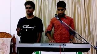 Njan kanum prananadhane/malayalam christian song/VOCAL:sharonvarghese/KEYS:joyalwilson 🎶🎶