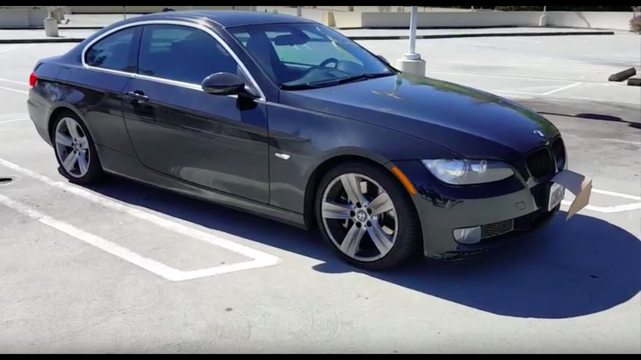 2007 bmw 335i base coupe review youtube. Black Bedroom Furniture Sets. Home Design Ideas