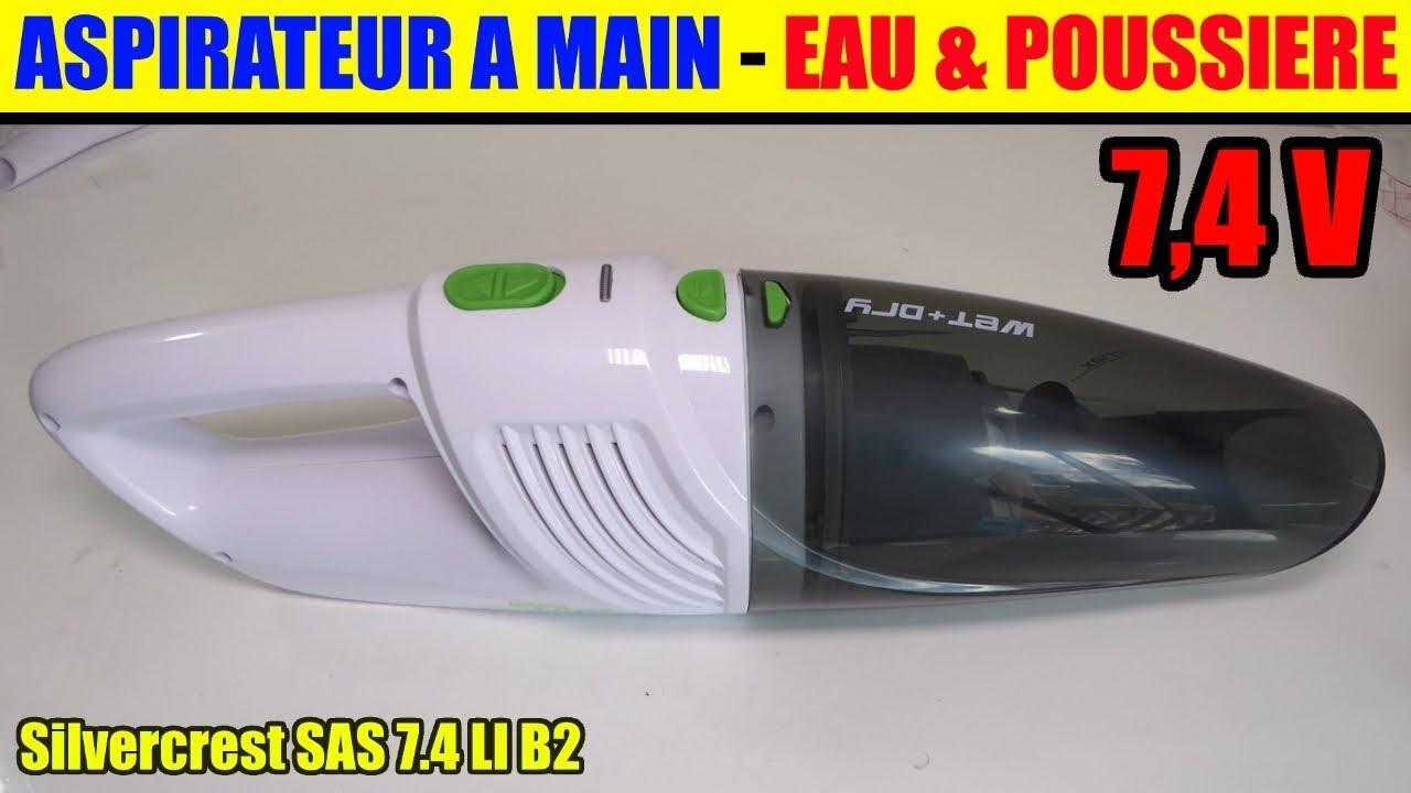 Aspirateur Lidl Main Eau Et Poussi Re Silvercrest Hand Held Vacuum Cleaner Handstaubsauger