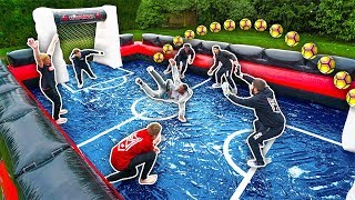 Download SIDEMEN GIANT SLIP AND SLIDE FOOTBALL Mp3 and Videos