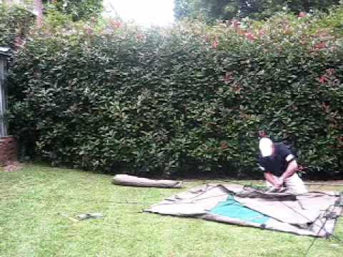 The worlds most durable canvas tents - part three of four - setting up tents - .diamantina.net.au & The worlds most durable canvas tents - part three of four ...