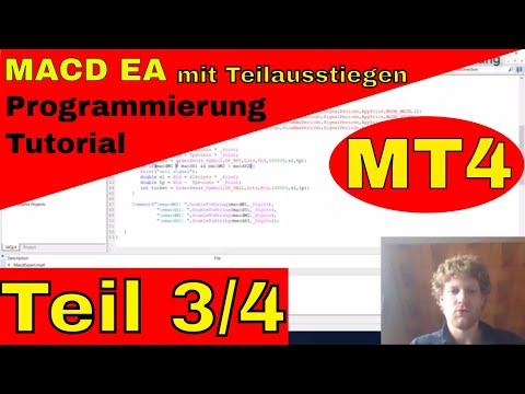 MACD Expert Advisor mit Teilgewinn-Mitnahme im MT4 - Teil 3