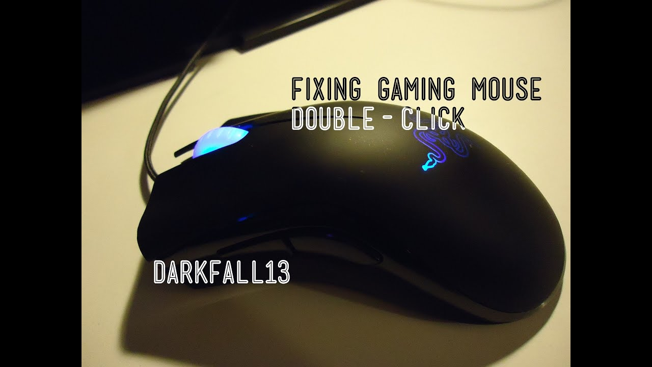 how to clean a gaming mouse