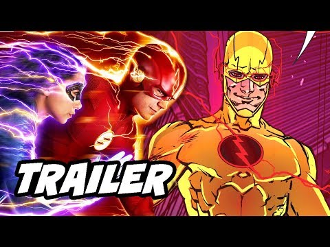 The Flash 5x03 Promo - Reverse Flash Easter Egg Explained