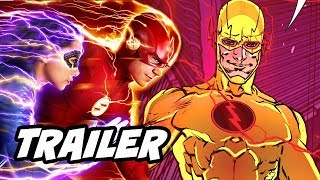 The Flash 5x03 Promo - Reverse Flash Easter Egg Explained