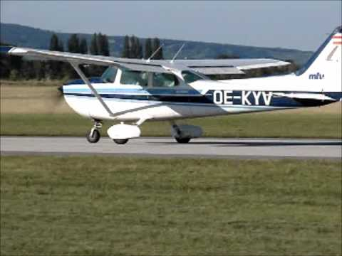 studentpilot fighting nasty and gusty Xwinds