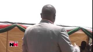 Showdown in Bomet as Deputy President William Ruto faces off with Bomet governor Isaac Ruto - VIDEO