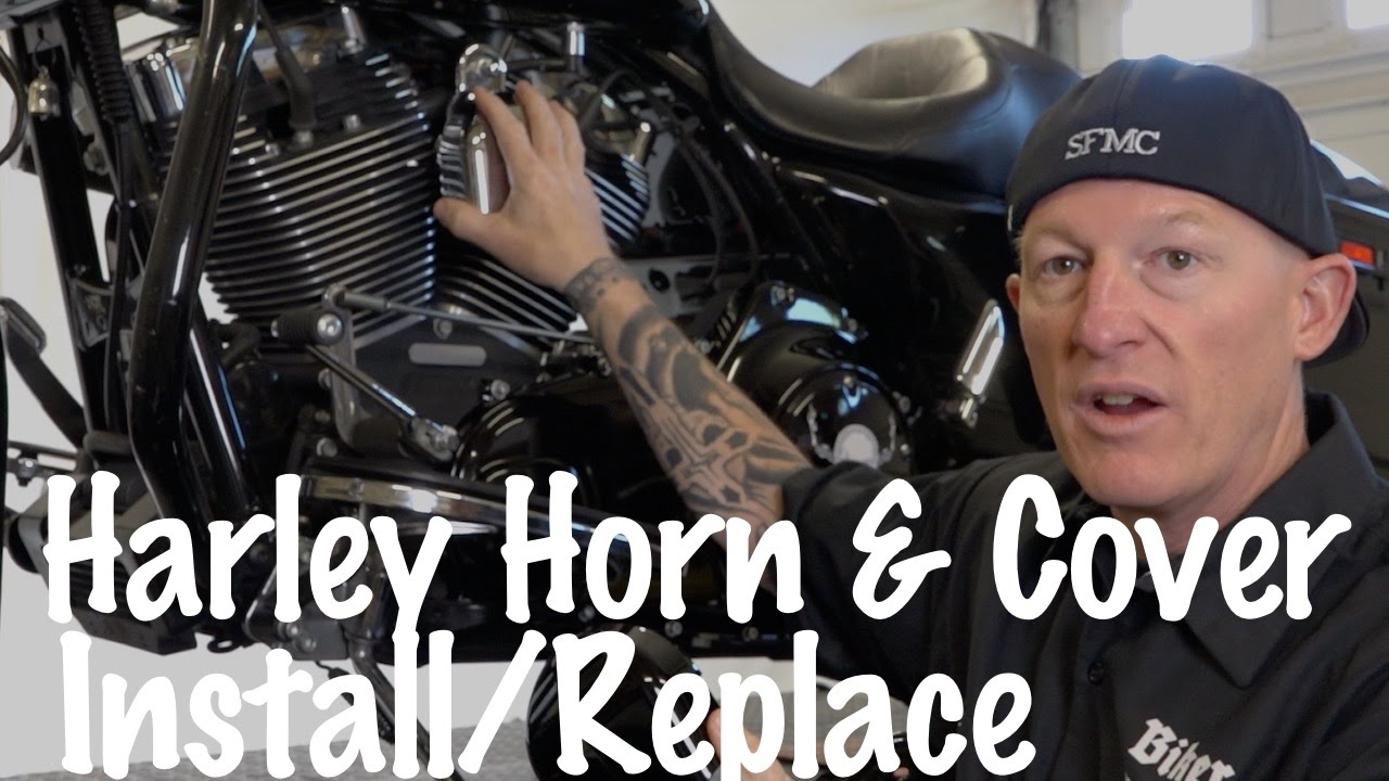 Install Harley Davidson Horn Cover Diy Motorcycle Podcast Youtube 12 Volt Relay Wiring Diagram