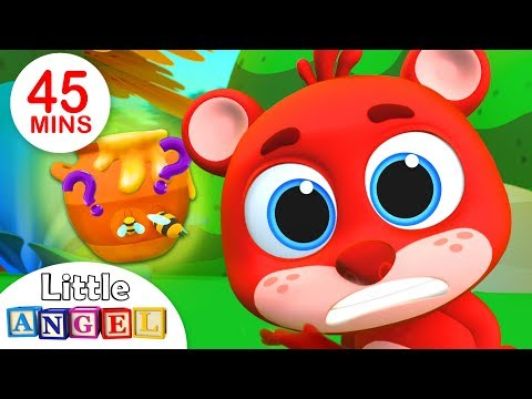 Where's My Honey?, Why Mommy? | Kids Songs and Nursery Rhymes by Little Angel