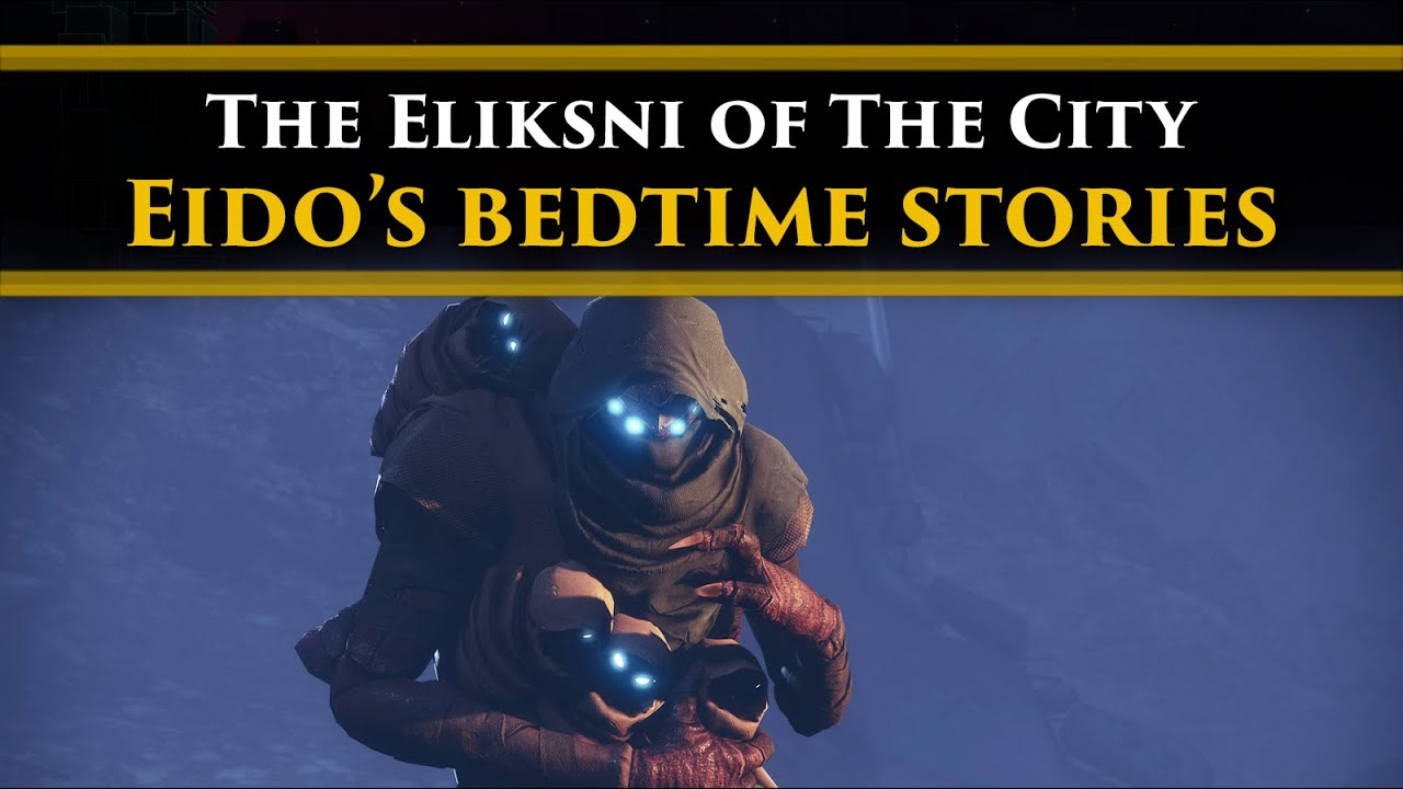 Destiny 2 Lore - Eido The Scribe of House Light, tells some bedtime stories to Eliksni Hatchlings!