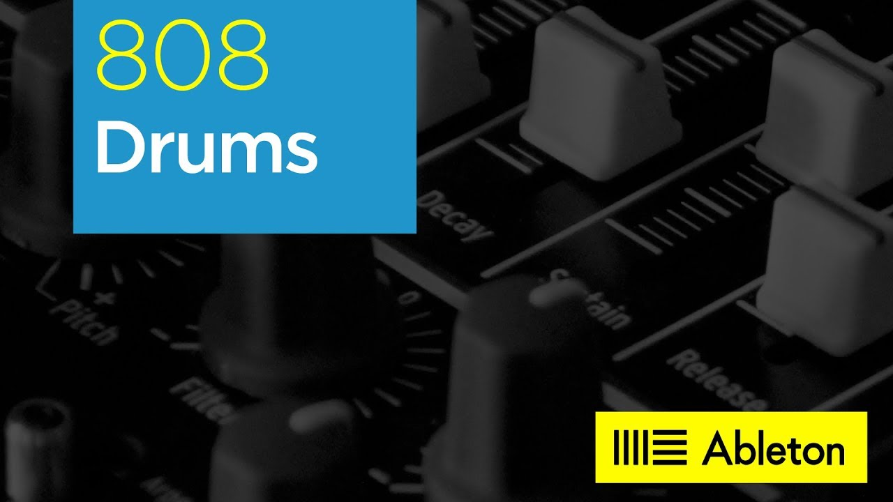 808 Drums : Minimal Techno Drum Kit