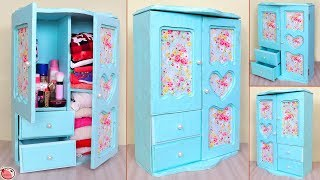 WOW !! DIY Room Organizer    Mini Cabinet Making at Home    DIY Projects !!!