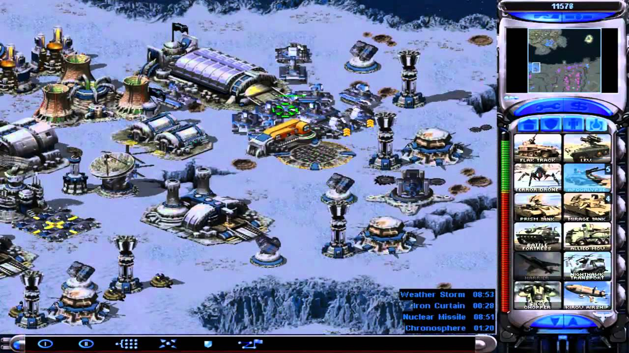 Command and conquer units