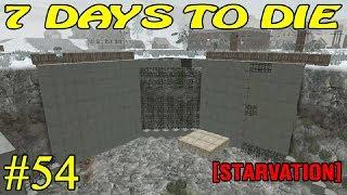 7 Days to Die [ STARVATION ] ► Начало постройки бункера ► №54
