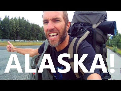 Hitchhiking ALASKA! Epic Adventure from Anchorage to Denali National Park