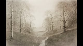 How to Draw a Landscape with Trees & Mist for Beginners using Graphite Powder