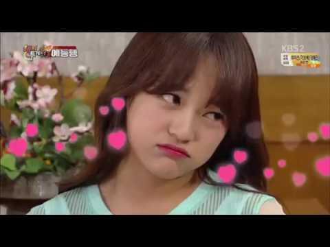 Kim Se Jeong (Gugudan/I.O.I) Doing Aegyo But....