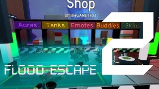 Roblox Flood Escape 2 (Test Map) - Escapee Shopping Center (Insane ?) (Multiplayer)