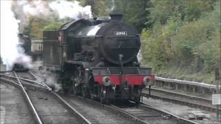 North Yorkshire Moors Railway Holiday D3 Green Timetable Saturday 10th October 2015