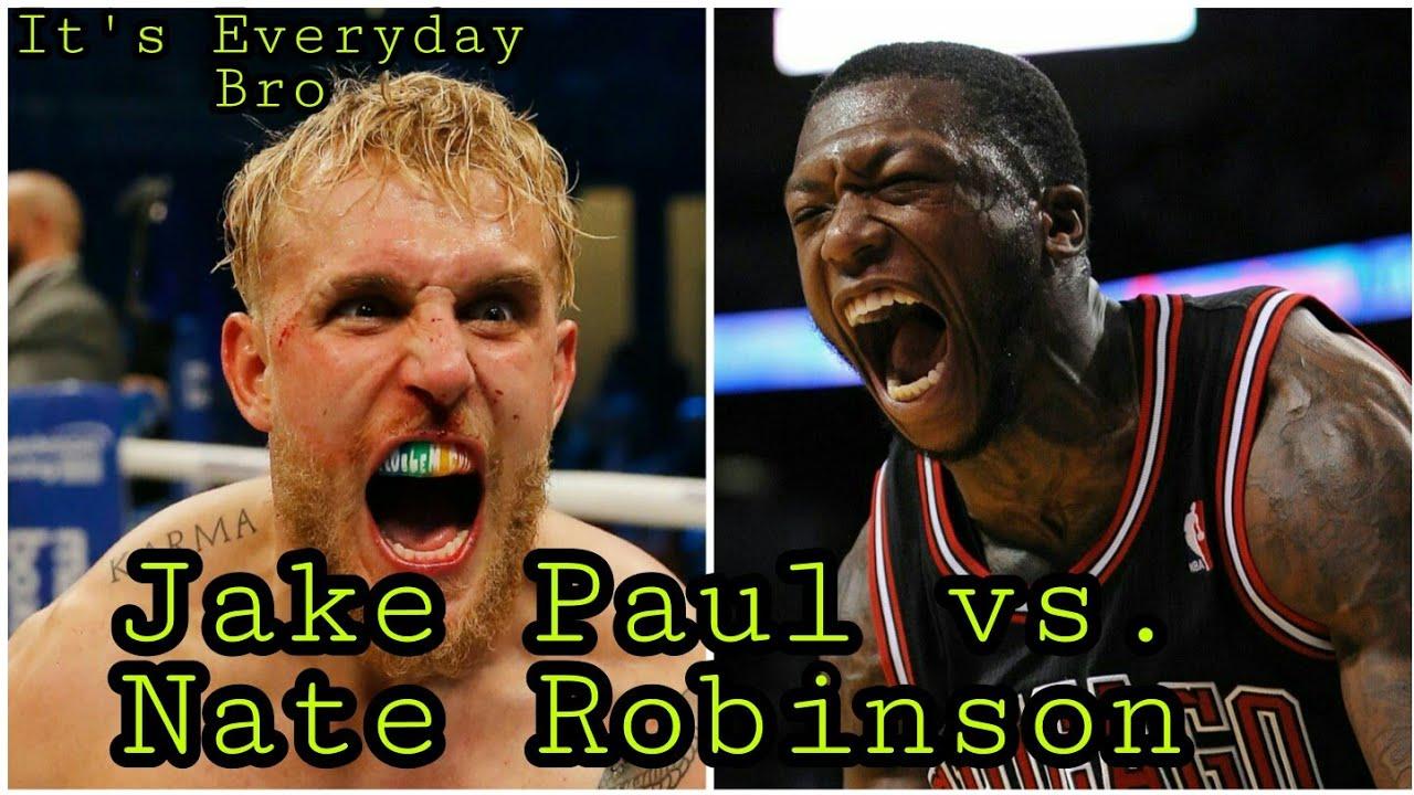 Jake Paul Nate Robinson Height - Tyson Jones Jake Paul ...