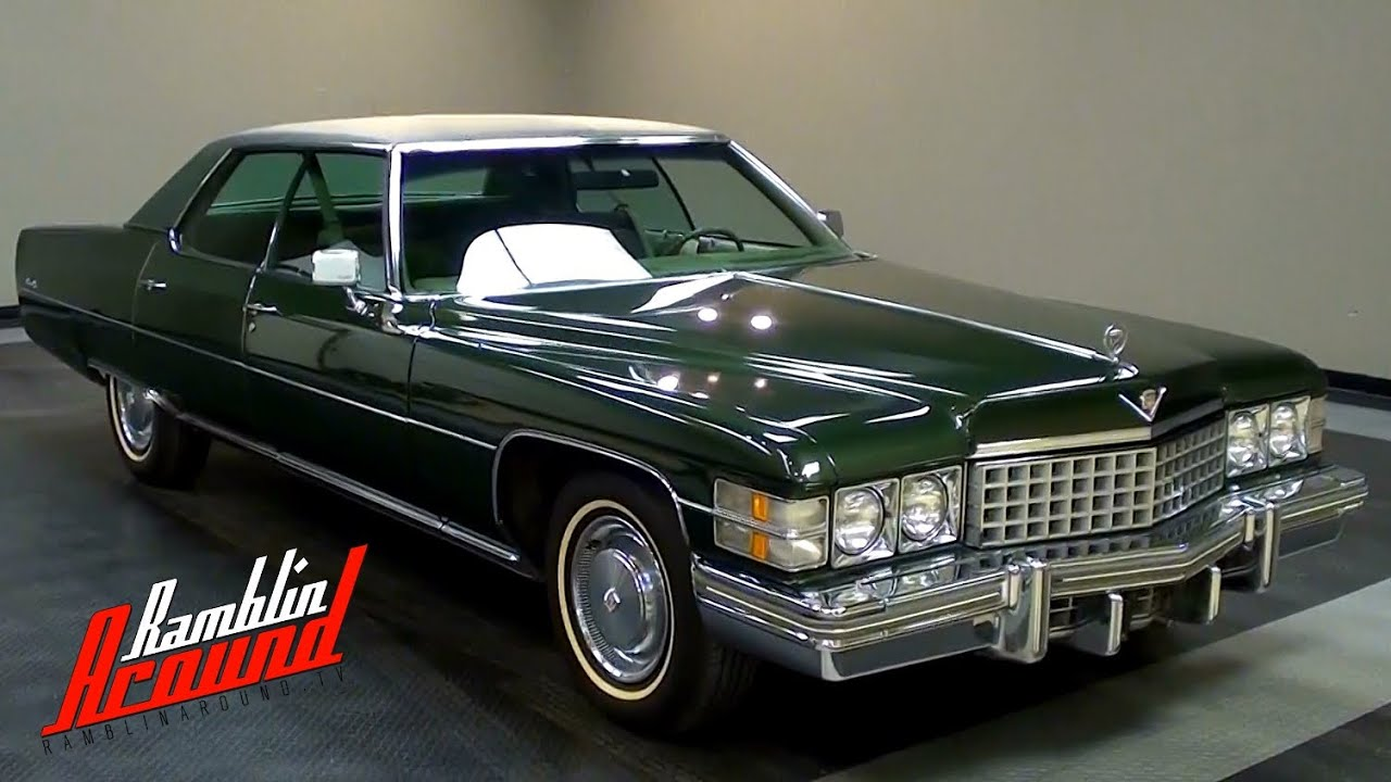 1974 Cadillac Sedan de Ville 472 V8 Very Original - YouTube