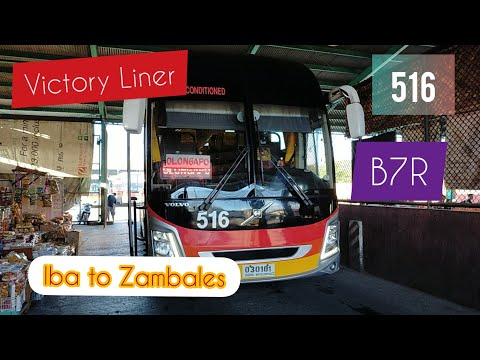 Victory Liner B7R (Iba To Olongapo City)