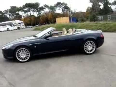Aston Martin Db9 Volante Touchtronic 2006 Youtube
