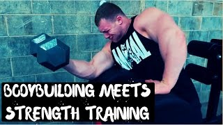 VLOG EP: 24 BODYBUILDING MEETS STRENGTH TRAINGING