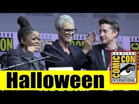 HALLOWEEN | Comic Con 2018 Full Panel (Jamie Lee Curtis, David Gordon Green)