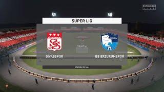 FIFA 21 Sivasspor vs BB Erzurumspor Turkey Super Lig 03 02 2021 1080p 60FPS