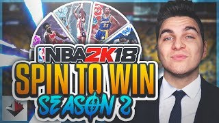 HE HAS 3 PINK DIAMONDS! NBA 2K18 SPIN TO WIN (S2E2)