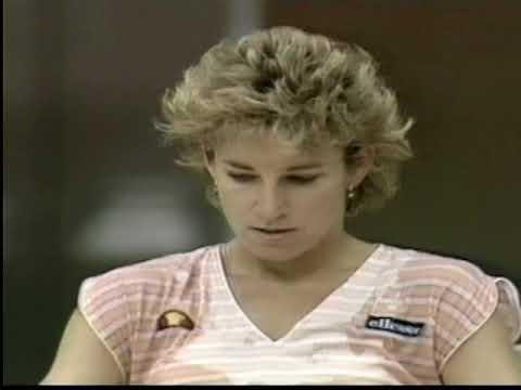 Chris Evert d. Manuela Maleeva Brighton F 1985 Part 2