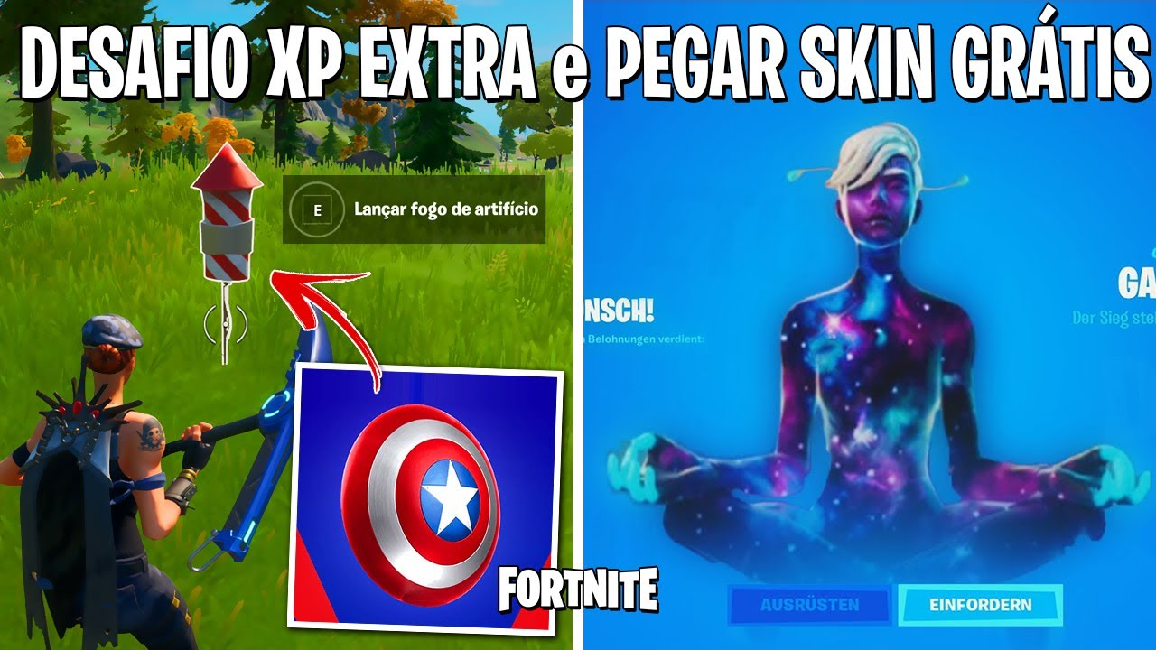 FORTNITE - SKIN EXCLUSIVA GRÁTIS e TORNEIO COPA GALAXY CONFIRMADO