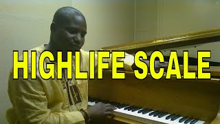 Highlife Piano Theory For beginners (Part2) Highlife scale and the Kay Benyarko Block chords