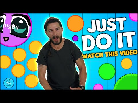 EXPLOSIVE JUST DO IT! WATCH THIS VIDEO! AGARIO HUNGER GAMES #2 (MOST ADDICTIVE GAME - AGAR.IO #27)