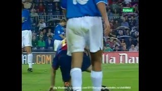 Barcelona - Valencia 17.06.2001 goals, highlights, tricks, skills {by Vladimir_G}