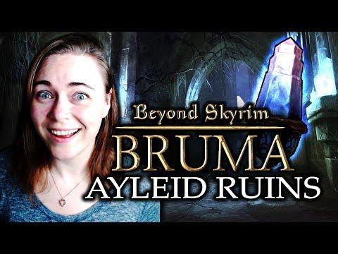 Beyond Skyrim: BRUMA [ Ayleid Ruins! ] Part 2