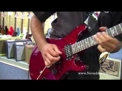 PRS SE Custom 24 - 25th Anniversary Model Scarlet Red - Nevada Music UK