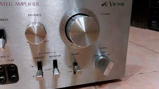 Ampli Victor JA-S41 : Sò sắt - Tụ to !