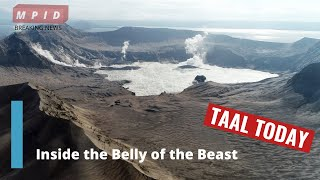 GOING INSIDE TAAL VOLCANO CRATER 30 DAYS AFTER ERUPTION: WHAT'S REALLY GOING ON???