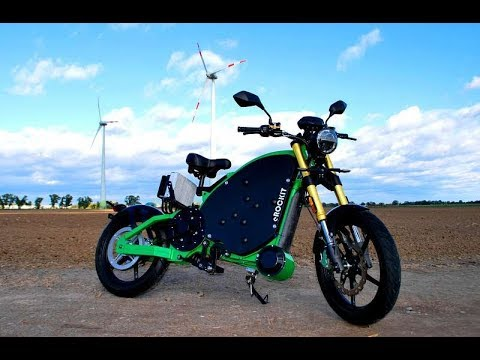 The World's First Pedal-controlled Electric Motorcycle!